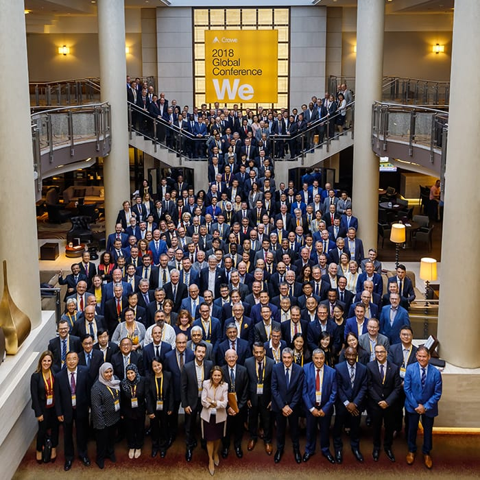 Crowe Annual Global Meeting
