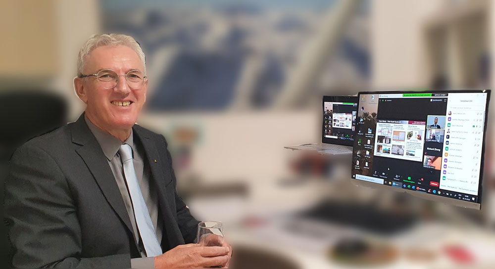Heinz Wehrle auf RICS Japan webinar panel