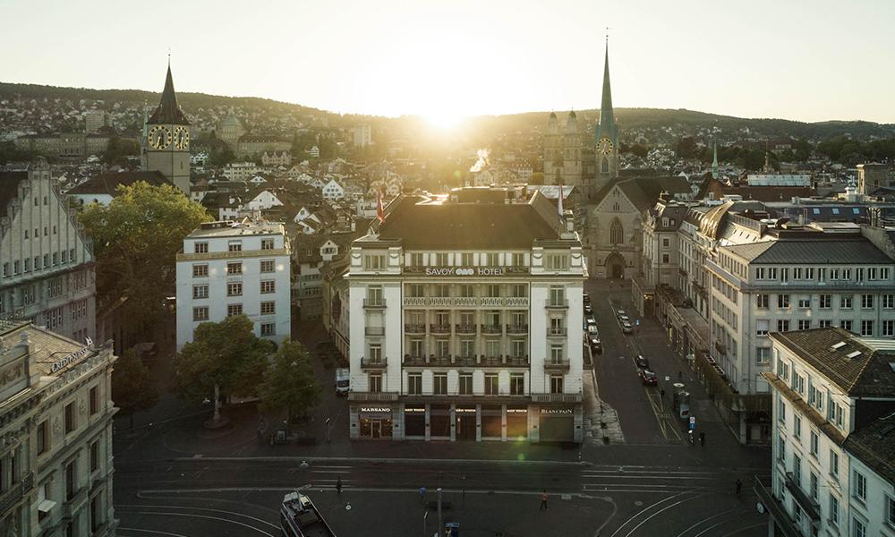 Savoy Hotel Baur en Ville wird Mandarin Oriental Hotel