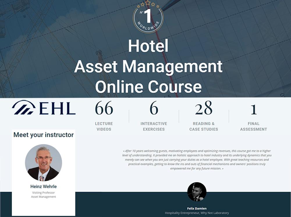 Heinz Wehrle rewrites Hotel Asset Management.blog